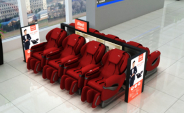 Sharing massage chair self-service payment solution